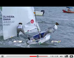 470 Women - video medal Race Olympic Games 2008